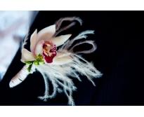Бутоньерка Орхидея