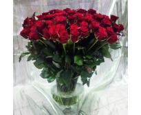 101 роза в бокале