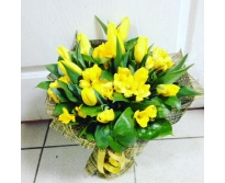 Весна в желтом